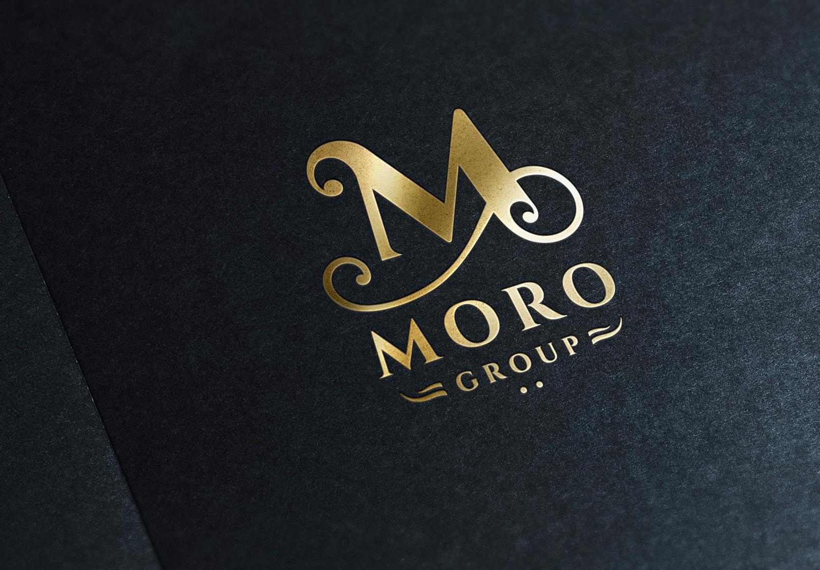 Gold Stamping Logo Mock-Upa