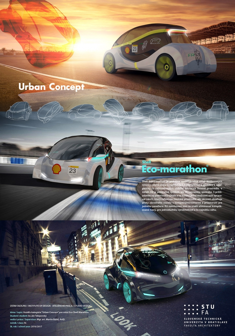 Eco Shell Marathon Concept