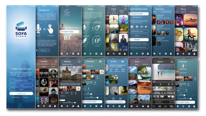 Sofa studio – mobilná aplikácia