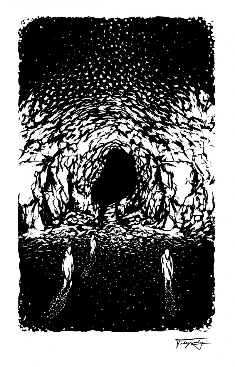Knižná ilustrácia – grafika, tlač z výšky
